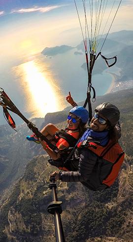 Adrenalin Bağımlılarına: Kaş'ta Yamaç Paraşütü Yapmak