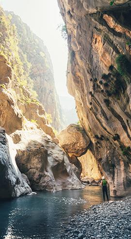 Göynük Beldesinin Yakınlarında Bir Doğa Harikası: Göynük Kanyonu