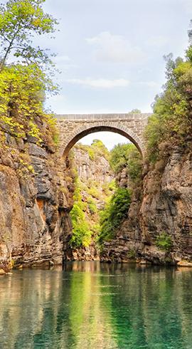 Isparta'dan Antalya'ya Köprülü Kanyon Milli Parkı