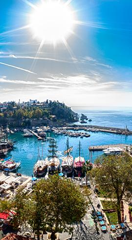 Hafta Sonu Tatil Yapmak İsteyenler İçin Akdeniz'de Uğrayabileceğiniz 5 Durak