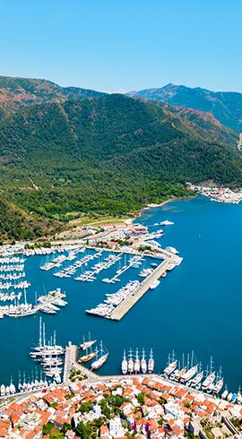 Ege ve Akdeniz'in En Güzel Marinaları
