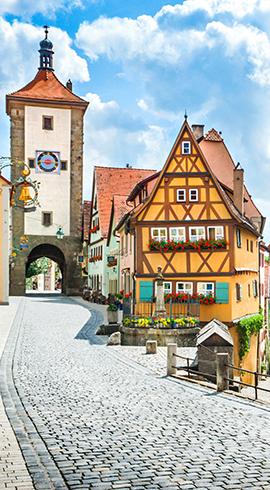 Almanya'nın Büyüleyici Rotası: Romantik Yol