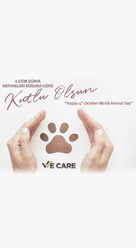 4 Ekim Dünya Hayvanları Koruma Günü kutlu olsun!