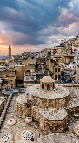 Mardin; The City That Fascinates by Its Rich Culture and Deep-Rooted History