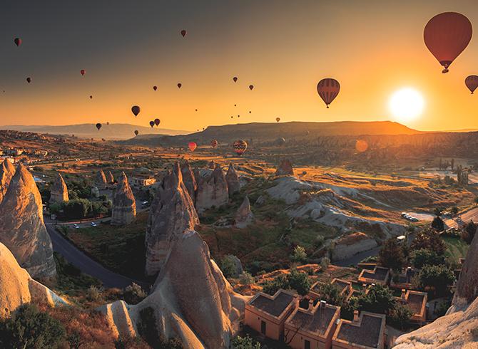 Unesco Dünya Mirası Listesinde Yer Alan Kapadokya