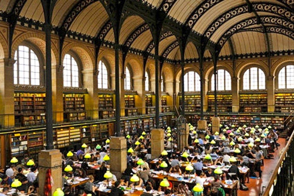 Sainte-Genevieve Kütüphanesi